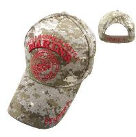 "Licensed ""Once a Marine, Always A Marine"" Hat [Digital Camo]"